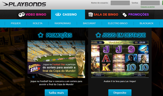 Casino Online Playbonds